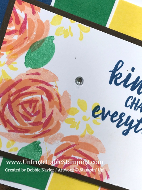 Unfrogettable Stamping | Fabulous Friday In Color card featuring the Abstract Impressions stamp set by Stampin' Up!