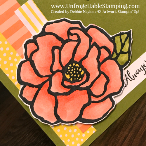 Fabulous Friday | Sketch challenge card featuring the Beautiful Day stamp set and 2018-2020 DSP stack by Stampin' Up!