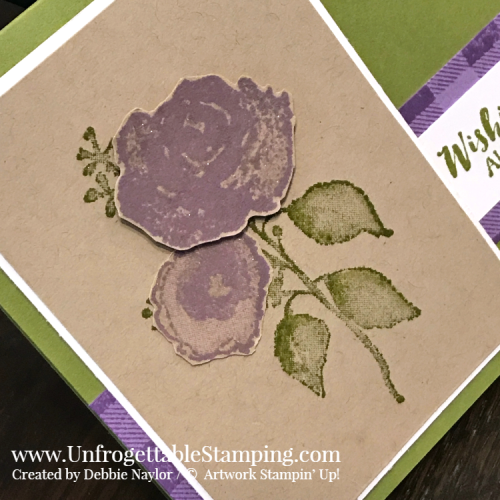 Unfrogettable Stamping | September 2018 Stampers Dozen Blog Hop Anything but Christmas card featuring the First Frost and Buffalo Check stamp sets from the Holiday catalog by Stampin' Up!