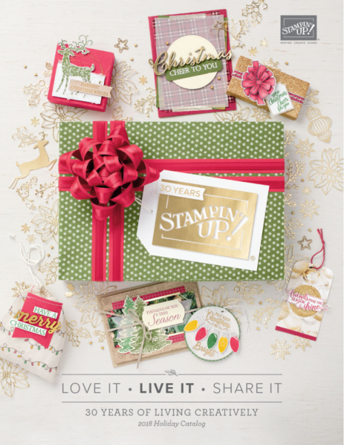 Unfrogettable Stamping | 2018 Stampin' Up! Holiday catalog