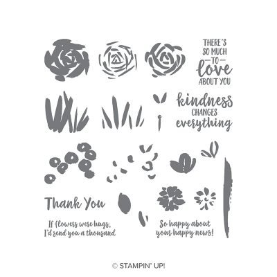 Unfrogettable Stamping   Abstract Impressions stamp set by Stampin' Up!