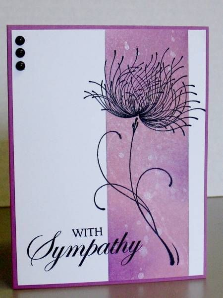 Unfrogettable Stamping | Card by blindstamper on Pinterest