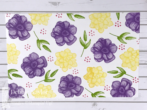 Unfrogettable Stamping Fabulous Friday Half sheet OSW Painted Seasons cards2
