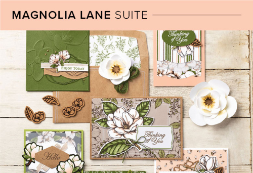 Unfrogettable Stamping Magnolia Lane Product Suite by Stampin' Up!