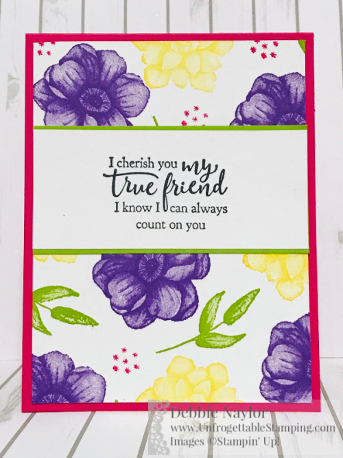Unfrogettable Stamping   Fabulous Friday Half sheet OSW cards featuring the Painted Seasons bundle, coordinating Four Seasons framelits and Strong & Beautiful stamp set by Stampin' Up!