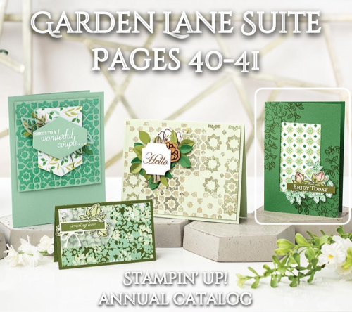 Unfrogettable Stamping | Garden Lane Suite by Stampin' Up!