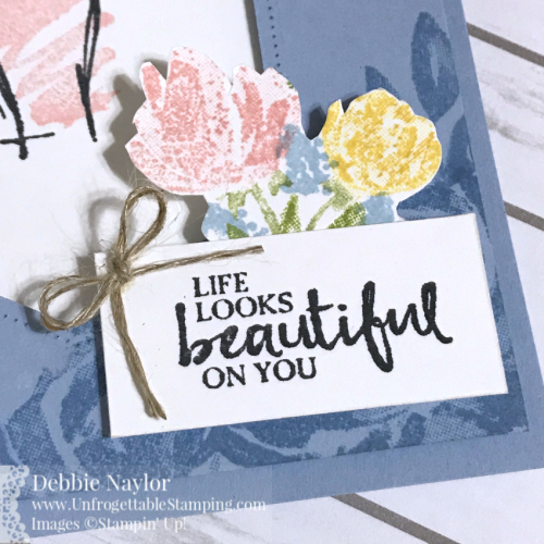 Unfrogettable Stamping | Fabulous Friday Catalog CASE card featuring the Beautiful Promenade and Beautiful You stamp sets from Stampin' Up!