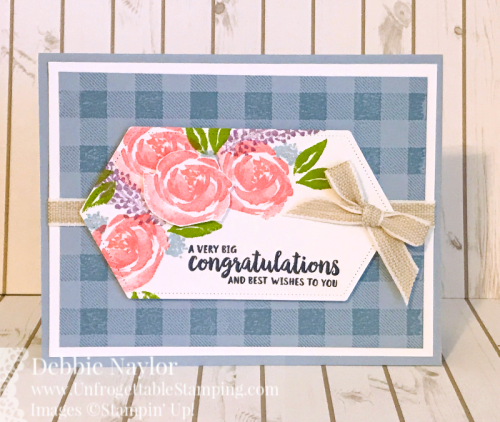 Unfrogettable Stamping | Fabulous Friday floral card featuring the Beautiful Friendship stamp set by Stampin' Up!