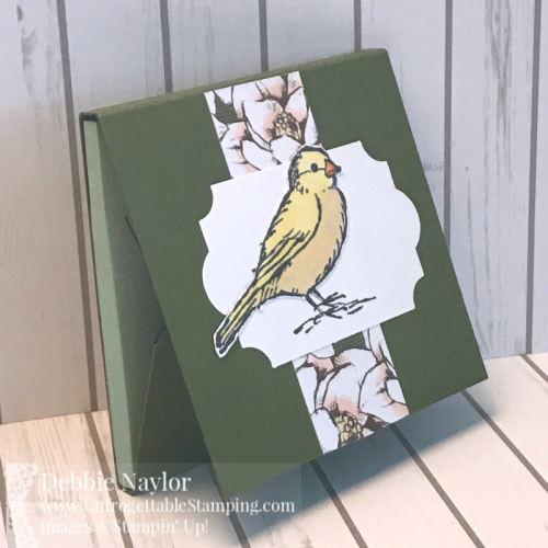 Unfrogettable Stamping | Fabulous Friday back-to-school altered notepad and post-it pad set featuring the Free as a Bird stamp set and Magnolia Lane DSP by Stampin' Up!