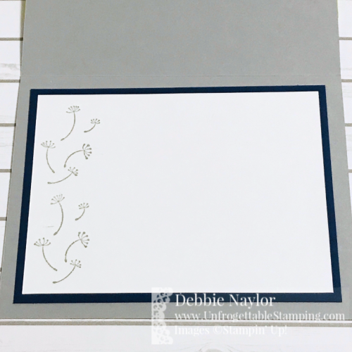 Unfrogettable Stamping   Fabulous Friday color challenge card featuring the Dandelion Wishes stamp set by Stampin' Up!