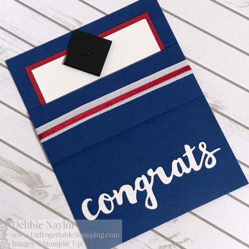Unfrogettable Stamping | Fabulous Friday Graduation Card featuring the retiring All Good Things stamp set and Sunshine Wishes thinlits dies from Stampin' Up!
