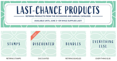 Unfrogettable Stamping | Last Chance products from Stampin' Up!