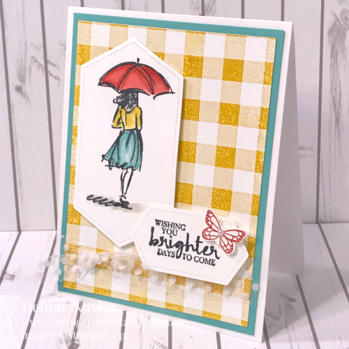 Unfrogettable Stamping | Fabulous Friday Color Combo card featuring the Beautiful You and Buffalo Check stamp sets by Stampin' Up!