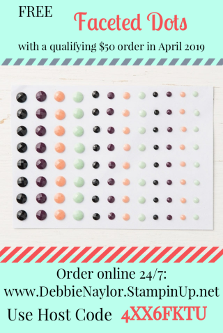 Unfrogettable Stamping | 2019 April order incentive