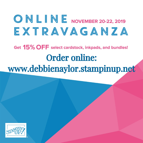 Unfrogettable Stamping | Stampin' Up! Online Extravaganza Sale Nov 20-22