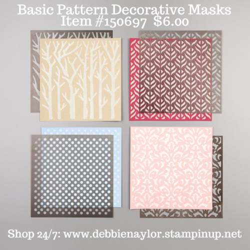 Basic Pattern Decorative Masks