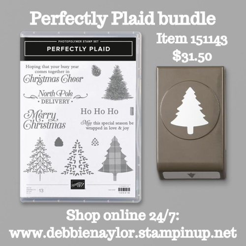 Unfrogettable Stamping | Perfectly Plaid bundle by Stampin' Up!