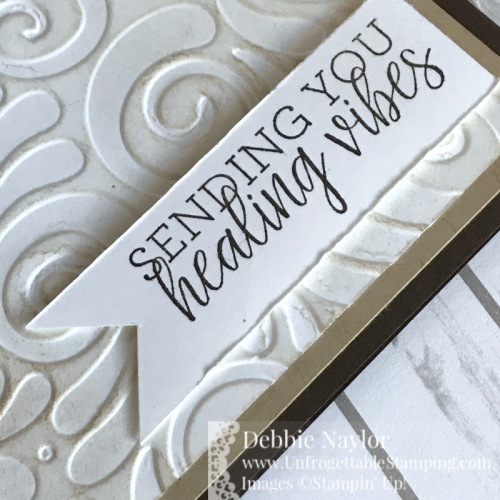 Unfrogettable Stamping | Fabulous Friday National Hot Chocolate Day get well card featuring the Healing Hugs stamp set by Stampin' Up!