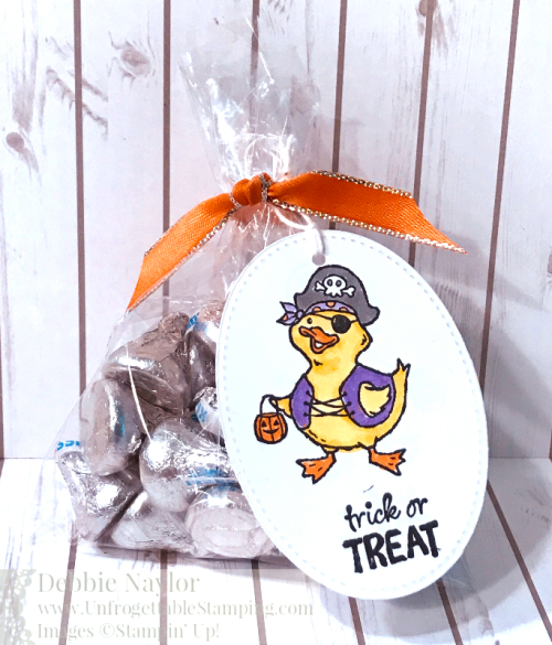 Unfrogettable Stamping | Fabulous Friday Trick or Tweet Halloween favor featuring the Birds of a Feather stamp set by Stampin' Up!