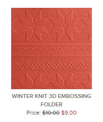 Winter Knit 3D folder
