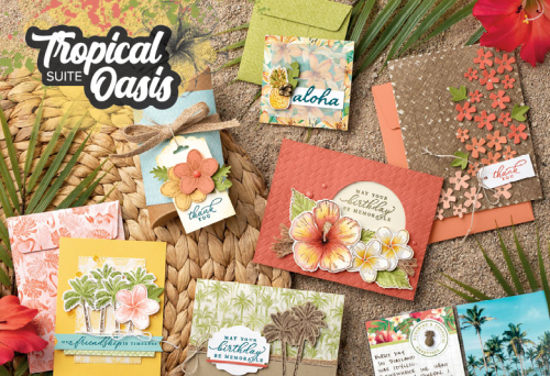 Unfrogettable Stamping | Tropical Oasis product suite from Stampin' Up!