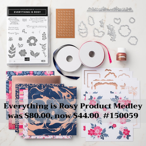 Unfrogettable Stamping | Everything is Rosy Product Medley by Stampin' Up!