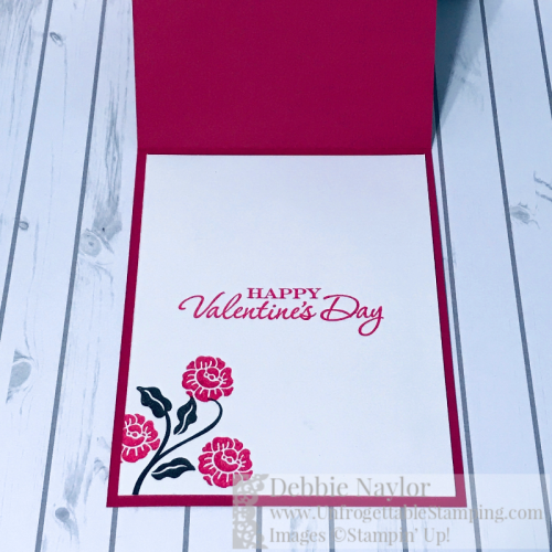 Unfrogettable Stamping | Fabulous Friday Valentine's Day card featuring the Heart to Heart stamp set, Swirls and Curls embossing folder and Support Ribbon framelits from Stampin' Up!