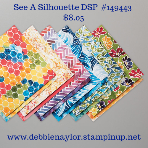 Unfrogettable Stamping | Last Chance See a Silhouette DSP on sale now from Stampin' Up!