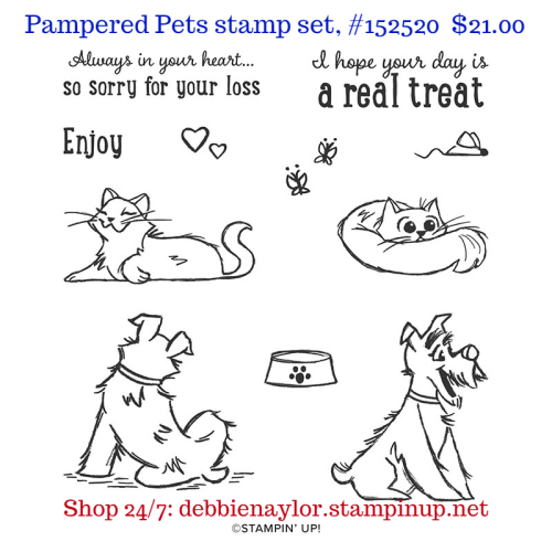 Unfrogettable Stamping | Pampered Pets stamp set from Stampin' Up!