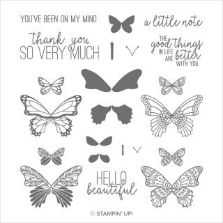 Unfrogettable Stamping | Butterfly Gala stamp set from Stampin' Up!