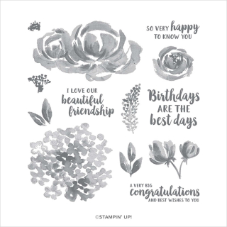 Unfrogettable Stamping | Beautiful Friendship photopolymer stamp set from Stampin' Up!