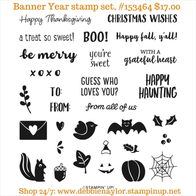 Unfrogettable Stamping | Banner Year photopolymer stamp set from Stampin' Up!