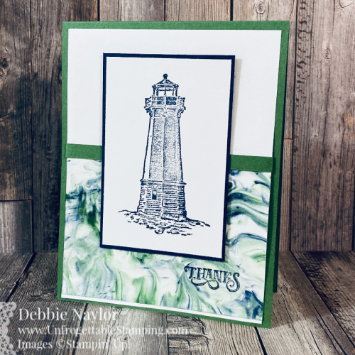 Unfrogettable Stamping | Sunday Fun Day Shaving Cream technique card set featuring the Sailing Home stamp set from Stampin' Up!