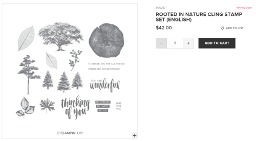 Unfrogettable Stamping | Rooted in Nature stamp set from Stampin' Up!