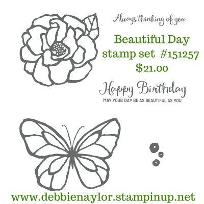 Unfrogettable Stamping | Beautiful Day stamp set from Stampin' Up!