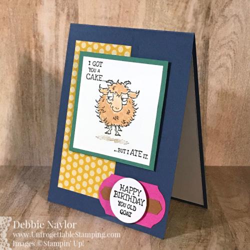 Unfrogettable Stamping Way To Goat In Color birthday card3
