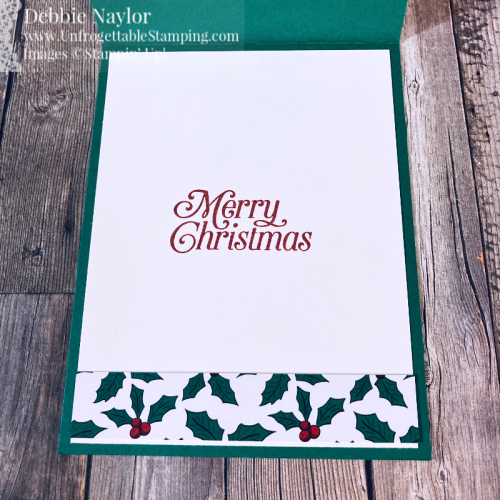 Unfrogettable Stamping | Fabulous Friday Memories & More Quick & Easy Christmas card featuring the Wonder of the Season card pack and Perfectly Plaid stamp set from Stampin' Up!