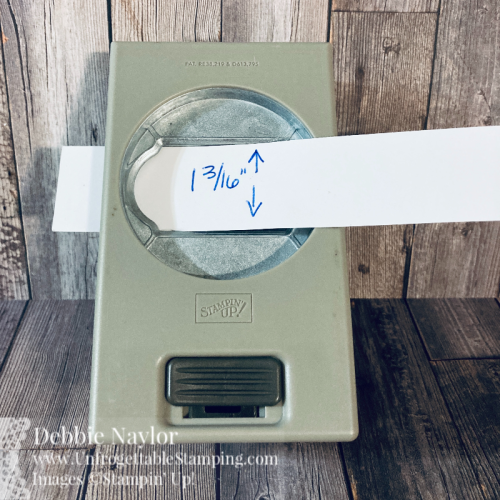 Unfrogettable Stamping   Fabulous Friday Fall card - how to extend the Timeless Label punch