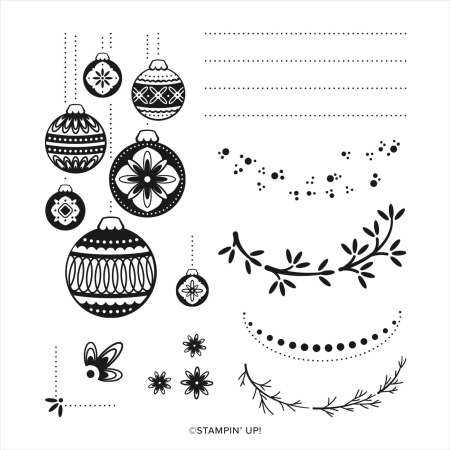Ornamental Envelopes stamp set