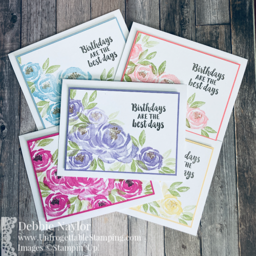Unfrogettable Stamping | March 2021 Stampers Dozen Blog Hop Birthday Card featuring the Beautiful Friendship stamp set from Stampin' Up!