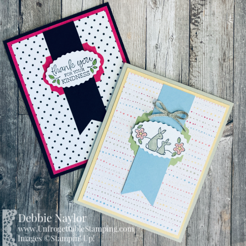 Unfrogettable Stamping | Sunday Fun Day cards featuring the Oval Occasions bundle from Stampin' Up!