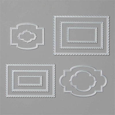 Unfrogettable Stamping | Stitched So Sweetly Dies from Stampin' Up!