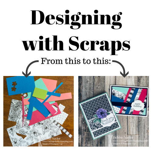 Unfrogettable Stamping | Sunday Fun Day designing with scraps card set featuring the retiring True Love DSP and Oval Occasions stamp set from Stampin' Up!an