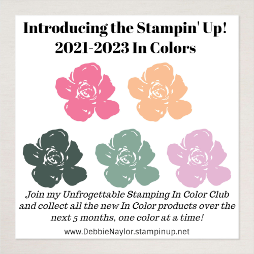 Unfrogettable Stamping 2021-2023 In Color Club