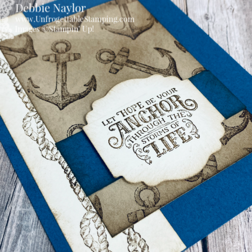 Unfrogettable Stamping | Sunday Fun Day sympathy card set featuring the Sailing Home stamp set from Stampin' Up!