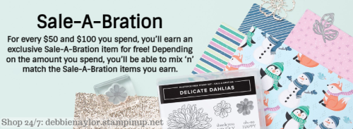 Unfrogettable Stamping | Sale-a-Bration Fall 2021 from Stampin' Up!