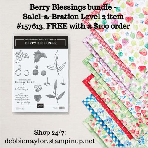 Berry Blessings SAB Level 2 bundle