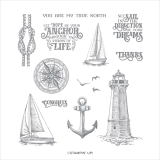 Unfrogettable Stamping | Sailing Home stamp set from Stampin' Up!