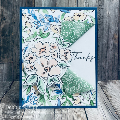 Unfrogettable Stamping | May 2021 Stampers Dozen Blog Hop new catty favorites card set featuring the Hand-Penned Petals bundle and Hand-Penned DSP from Stampin' Up!