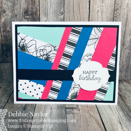 Unfrogettable Stamping | Sunday Fun Day designing with scraps card set featuring the retiring True Love DSP and Oval Occasions stamp set from Stampin' Up!